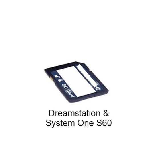 Image de Carte mémoire pour Dreamstation et System One Serie 60